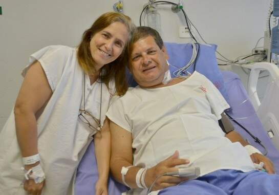 Casa realizou o procedimento, o primeiro com doador vivo em 2017 (Foto: Divulgação/Santa Casa)