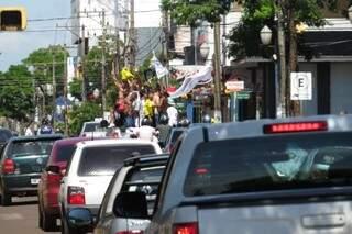 Festa ainda não terminou em Dourados (Foto: Dourados News)