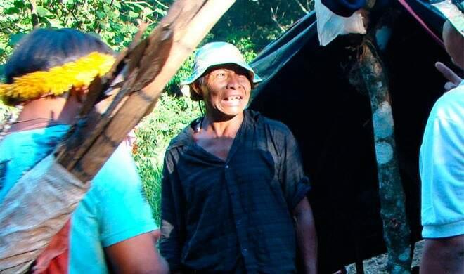 Em novembro de 2011, foi assassinado o kaiowá Nísio Gomes, com 59 anos de idade (Foto: Divulgação/Cimi)