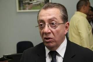 """""""Desvio de dinheiro na vara de combate à lavagem de dinheiro? Vamos exigir apuração rigorosa"""", diz presidente da OAB, Elias Karmouche.(Foto: Marcos Ermínio)"""