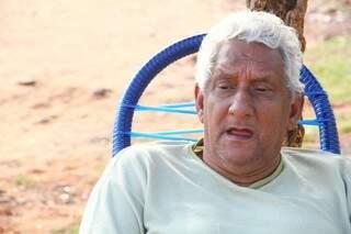O aposentado Virgilio José dos Santos, não percebeu uma melhora no policiamento (Foto: Marcos Ermínio)