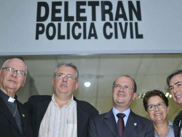 Deletran foi inaugurada nesta manhã. (Foto Alcides Neto)