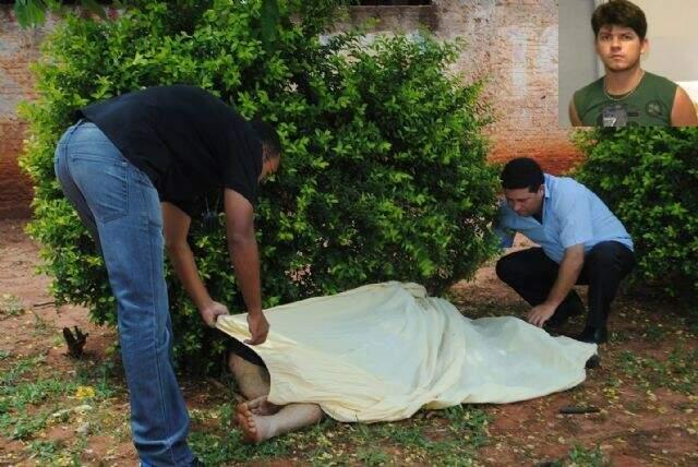 Junior foi morto na frente da esposa (foto: Caarapó News)