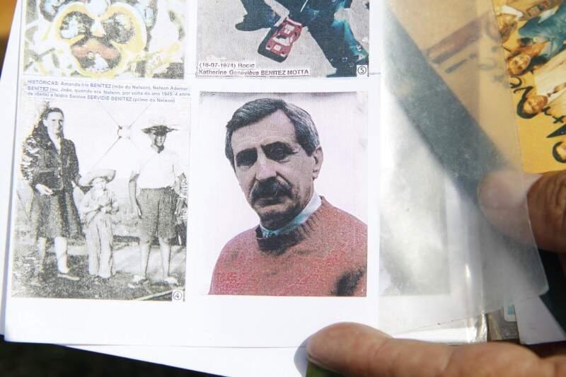 O Nelson, dito em terceira pessoa sempre, só ficou mesmo no álbum de fotografias.