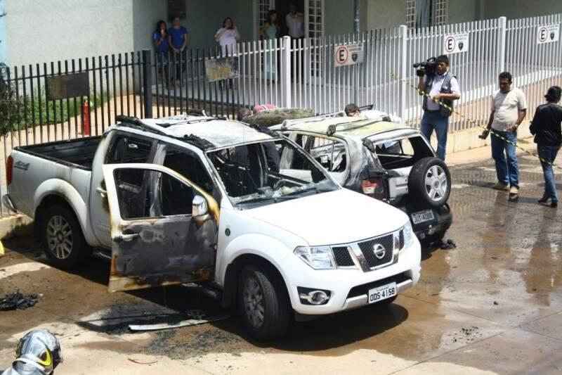 Donos tiveram grandes prejuízos com incêndio. Foto: Marcos Ermínio