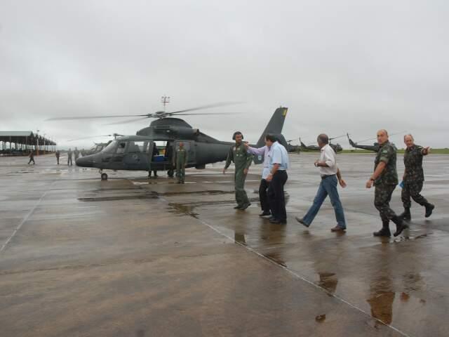 Helicóptero do Exército vai sobrevoar região de Aquidauana.