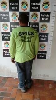 Acusado foi preso na manhã desta sexta-feira. (Foto: Divulgação Deco)