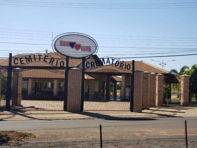 Funerária fica em Paranaíba, a 422 quilômetros. (Foto: Divulgação)