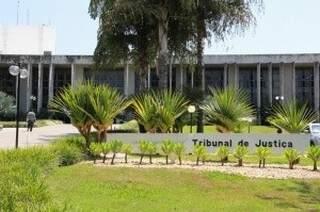 Sede do TJMS, onde ficam desembargadores do Órgão Especial, que julga uma das ações sobre a Cosip (Foto: Marcos Ermínio/Arquivo)