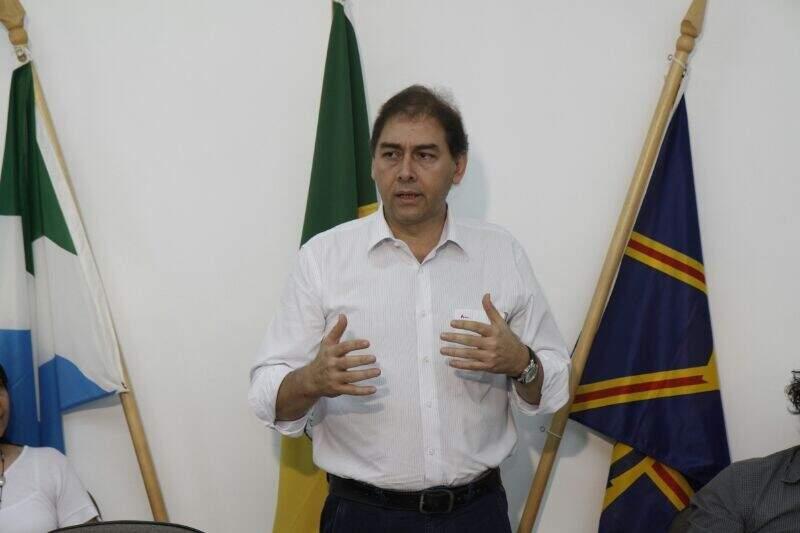 Prefeito Alcides Bernal tenta mais uma vez suspender Processante (Foto: Cleber Gellio)