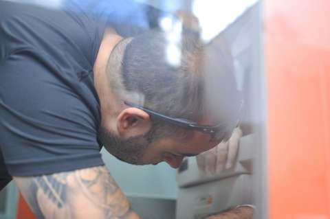 Quadrilha levou quase R$ 10 mil de caixa eletrônico na Coronel Antonino