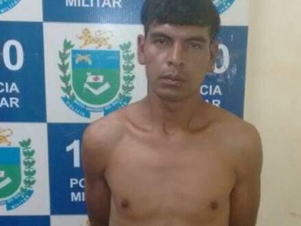 Acusado já tinha passagens por tráfico de drogas e lesão corporal (Foto: Porã News)