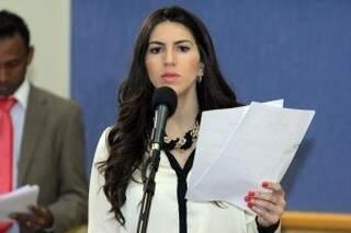 Vereadora espera contribuir com o debate com audiência na Câmara (Foto: Divulgação)