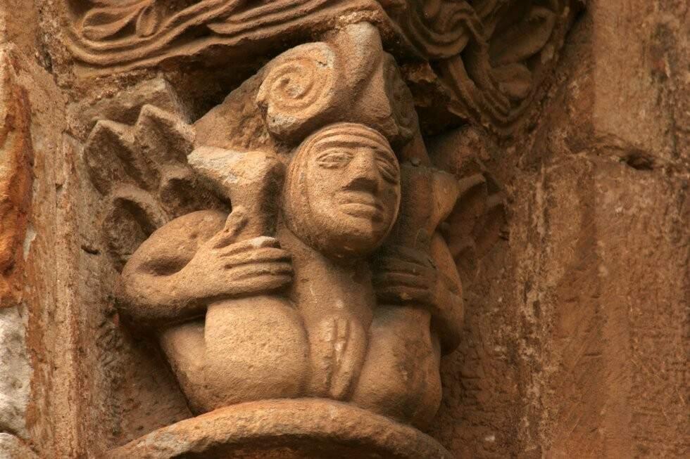 Sexualidade medieval. Obscenidades nas igrejas