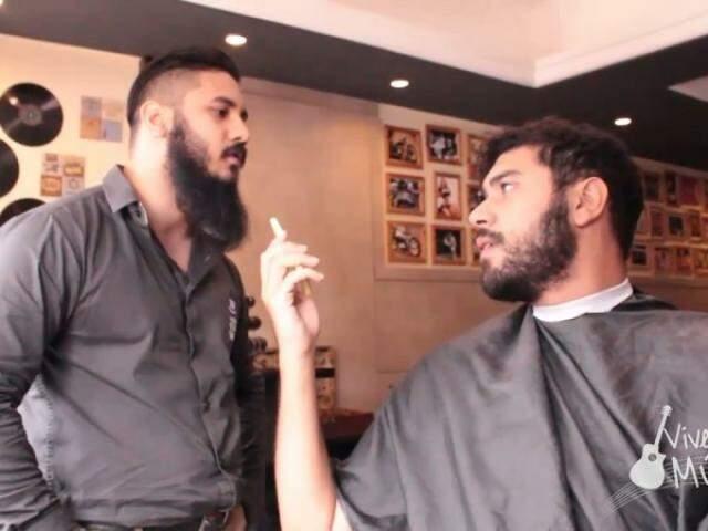 Transformação no sertanejo começa no cabelo e segue afinando rosto com a barba