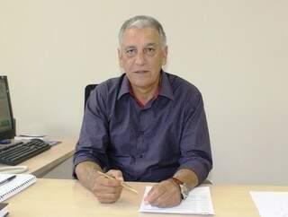 Diretor financeiro, Luiz Rocha  vai assumir presidência da Sanesul. (Foto: Sanesul)