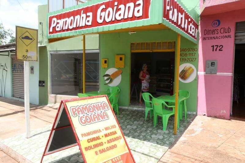 A loja fica na avenida Fillinto Muller (Foto: Cleber Gellio)
