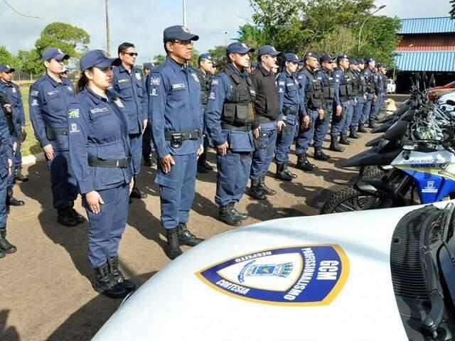 Parte da tropa poderá usar armas de fogo no patrulhamento (Foto: Divulgação)