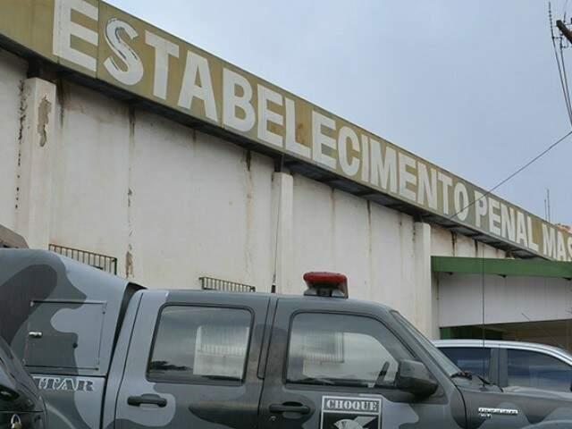 Presídio em Corumbá: diretores estão entre os presos pelo Gaeco (Foto: Ricardo Albertoni/Diário Corumbaense)