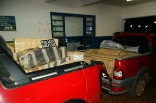 Droga estava escondida em dois veículos (foto: divulgação)