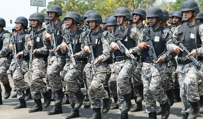 Agentes da Força Nacional estão em atuação nos presídios de Amazonas (Foto: Divulgação/Agência Brasil)