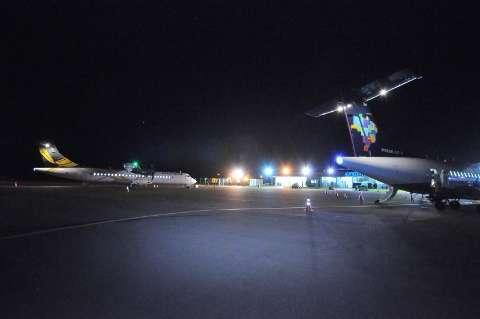 Sem voo na madrugada, aeroporto espera verba federal para ampliação