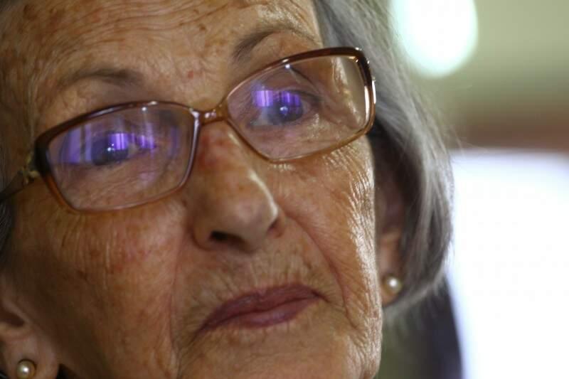 """""""Envelhecer tem que envelhecer mesmo. Esconder não tem jeito. Está aí para ver"""", diz. (Foto: André Bittar)"""