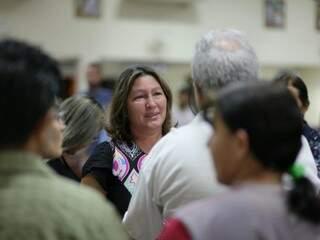 Mãe de Mayara, dona Ilda Cardoso ficou bastante comovida com homenagem feita à filha, que teve suas memórias relembradas