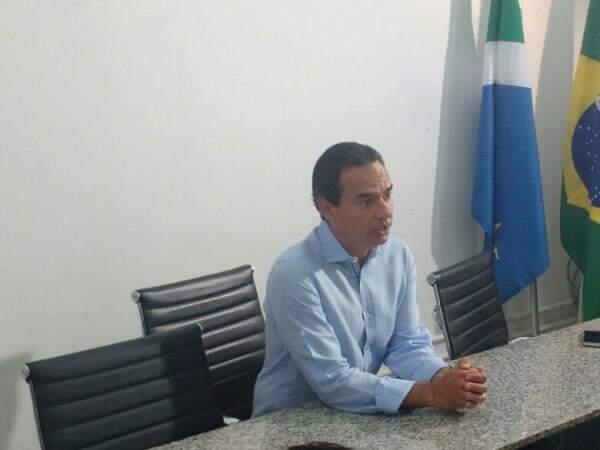 Prefeito de Campo Grande, Marquinhos Trad (PSD). (Foto: Mayara Bueno)