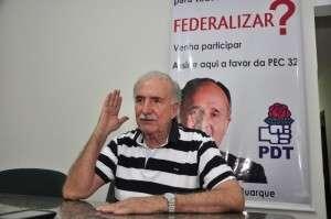 """""""PDT não vai participar do Conselho Político"""" do Bernal, diz Schimidt"""