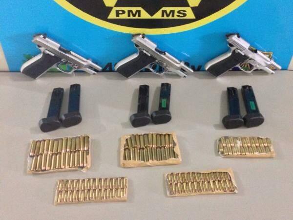 Armas portáteis poderão ser doadas para órgãos da segurança pública. (Foto: Divulgação/Arquivo)