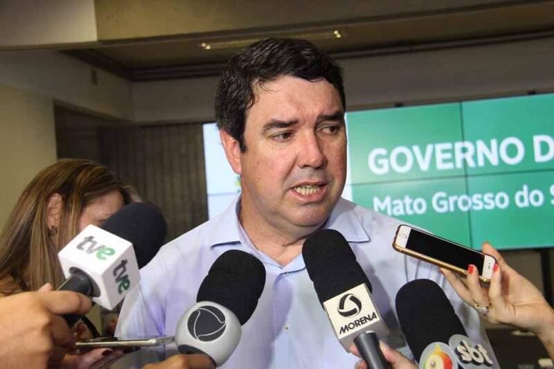 """""""Desde domingo estamos discutindo o assunto"""", afirma o secretário de governo, Eduardo Ridel. (Foto: Chico Ribeiro)"""