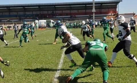 Time campo-grandense pega o Botafogo na semifinal do futebol americano