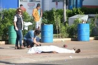 Diego Eufrázio da Silva morreu após ser atingido por, pelo menos, 15 tiros. (Foto: Reprodução/ Facebook)