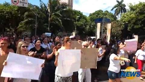 Protesto complica trânsito no centro da Capital