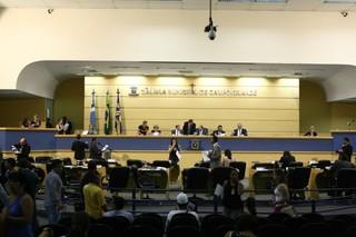 Com novo recálculo de votos Câmara pode ter três novos integrantes na quinta-feira (Foto: Marcos Ermínio / Arquivo)