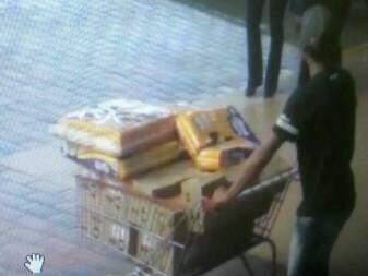 Luciano França Sousa, 31 anos é suspeito de integrar uma quadrilha especializada em furtos de mercado (Foto: Divulgação/ Polícia Civil)