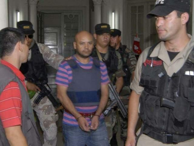 Traficante foi extraditado do Paraguai para o Brasil após cumprir pena de 7 anos (Foto: ABC Color)