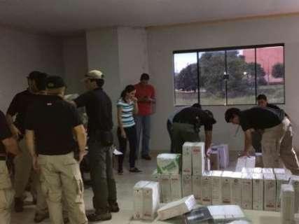 Operação prende dois envolvidos com lavagem de dinheiro para o PCC