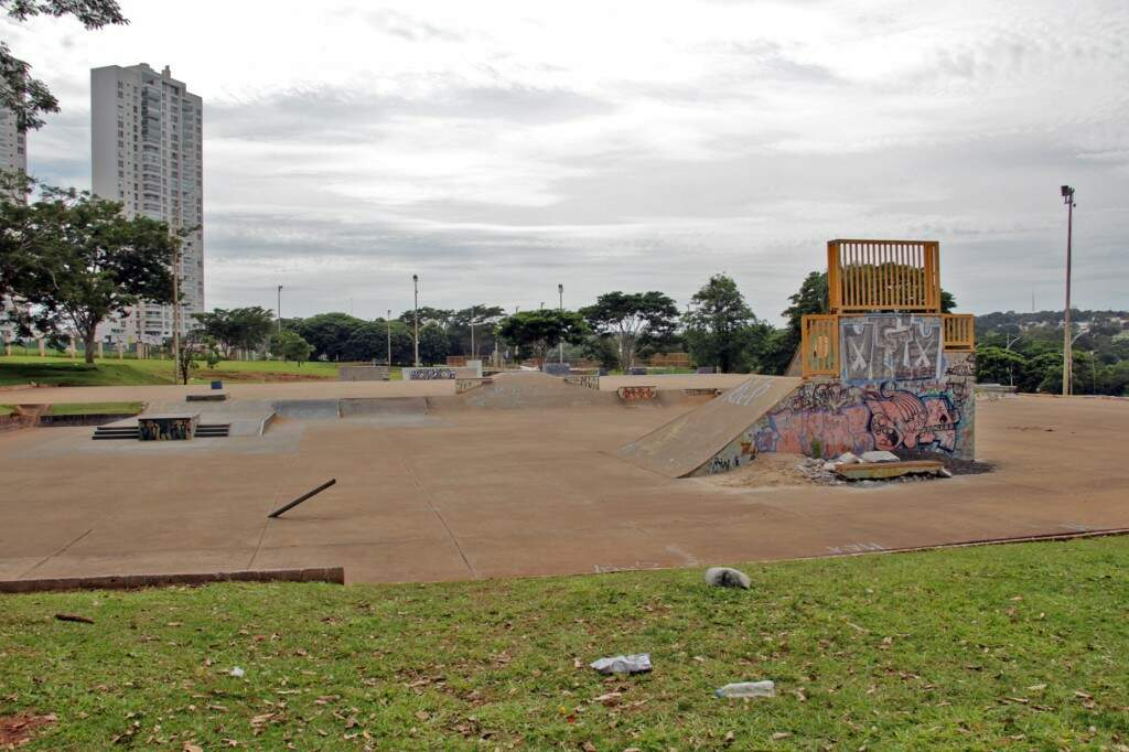 Pista de skate está incluída na reforma. (Foto: Marcos Ermínio/Arquivo)