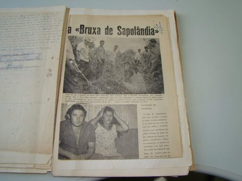 Anexado ao processo, jornal estampa caso em 12 de janeiro de 1969.