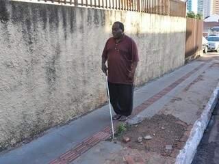 Acessibilidade ainda é deficiente em todo o Estado. (Foto:Marcelo Calazans)