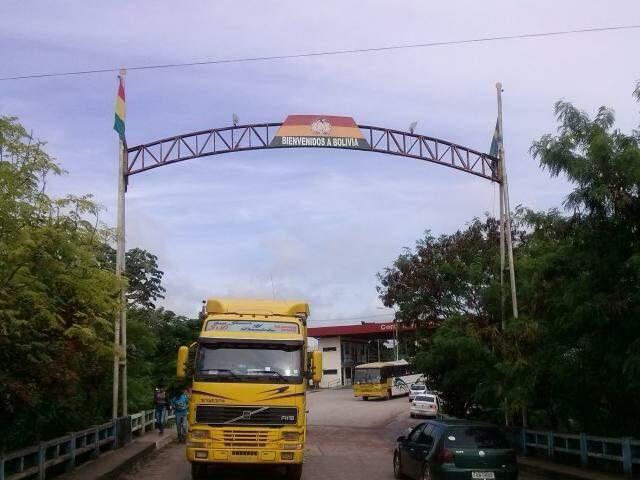 Autoridades Bolivianas realizarão o controle de entrada de brasileiros na região de fronteira. (Foto: Cleber Gellio/Arquivo)