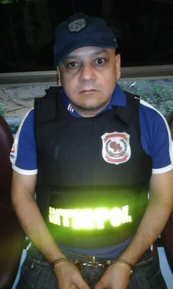 Capilo, como é conhecido, foi extraditado para o Brasil. (Foto: ABC Color)
