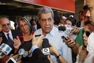 Governador disse que não pretende concorrer a prefeitura de Campo Grande.