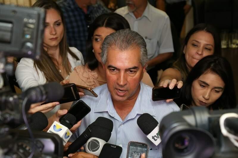Governador de Mato Grosso do Sul, Reinaldo Azambuja (PSDB). (Foto: Marcos Ermínio)