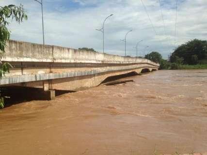 Chuvas na região norte fazem nível do Rio Taquari subir 82 centímetros