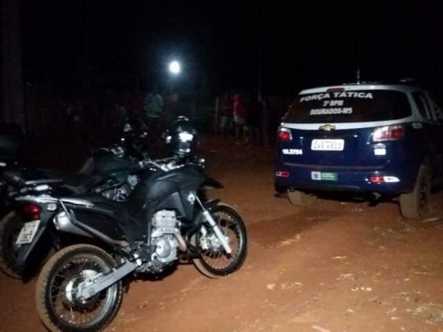 Polícia Militar está na região apurando as circunstâncias dos crimes. (Foto: Dourados News)