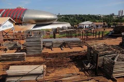 Reinaldo mantém contratos e vai concluir Aquário do Pantanal neste ano