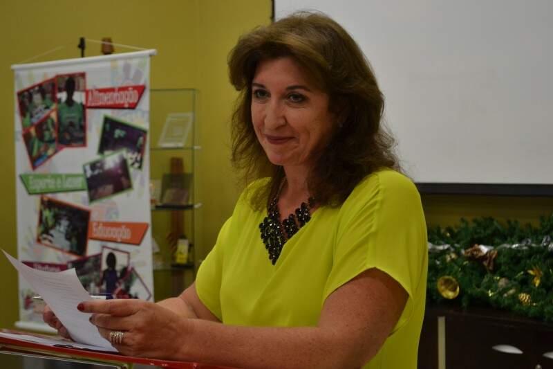 Representante de MS na ONU, Raquel acredita na visibilidade que as instituições podem ganhar e, assim, firmar mais parcerias (Foto: Simão Nogueira)